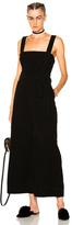 Mara Hoffman Idola Jumpsuit in Black.