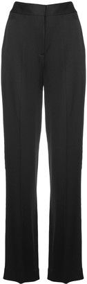 Jason Wu Collection Flared Satin Trousers