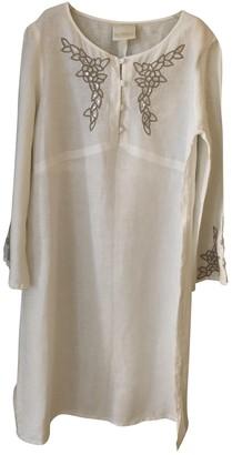 La Perla White Linen Dresses