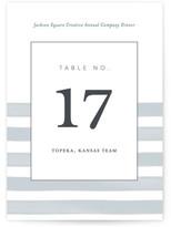 Minted Brushstroke Table Numbers