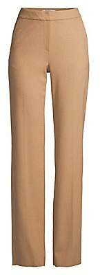 Max Mara Women's Pescia Camel Hair Full Pants