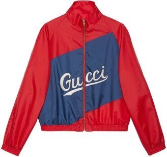 Gucci Nylon jacket with script