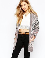 Pepe Jeans Patterned Cardigan