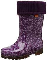 Toughees Shoes Unisex Kids' Character Welly with Removable Sock Wellington Boots,10/11 Child UK 28/29 EU