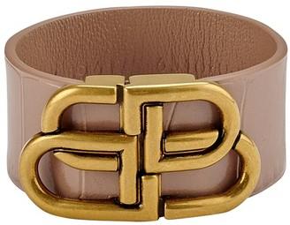 Balenciaga BB large bracelet