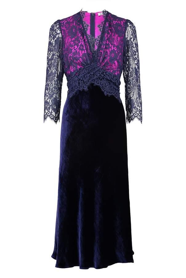 Libelula Millie Dress - Lace and Velvet
