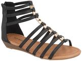 Black Avery Gladiator Sandal