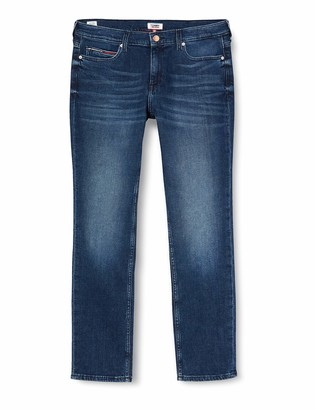 Tommy Jeans Women's Tj 1985 Mid Rise Strght Dsymd Straight Jeans