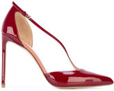 Francesco Russo pointed toe pumps - women - Leather - 36