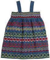 Stella McCartney Embroidered Chambray Dress
