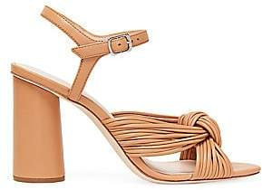 Loeffler Randall Women's Cece Knotted Leather Sandals