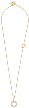 Jil Sander Circular Pendant Necklace