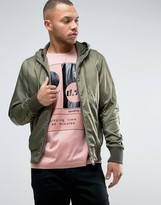 Diesel J-FARRA Hooded Bomber Jacket