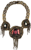 Dannijo Fringe Collar Necklace