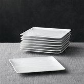 Crate & Barrel Set of 8 Cyd Salad Plates