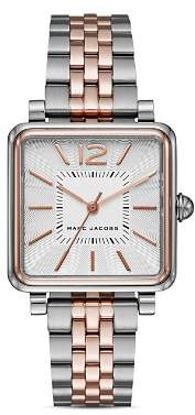 Marc Jacobs Two-Tone Vic Watch, 30mm
