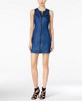 Calvin Klein Jeans Zip-Front Denim Sheath Dress