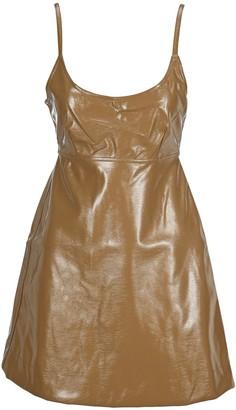 Ganni Bow Mini Dress