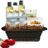 Pure Energy Apothecary Premium Spa Collection Satsuma Gift Set with Basket