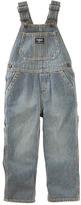 Osh Kosh Toddler Boy Pinstripe Denim Overalls