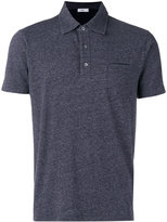 Closed patch pocket polo shirt - men - Cotton/Polyester - M