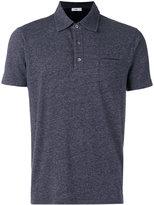 Closed patch pocket polo shirt