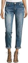 One Teaspoon Mid-Rise Baggie Boyfriend Jeans, Pure Blue