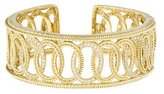 Judith Ripka 18K Hinged Diamond Cuff