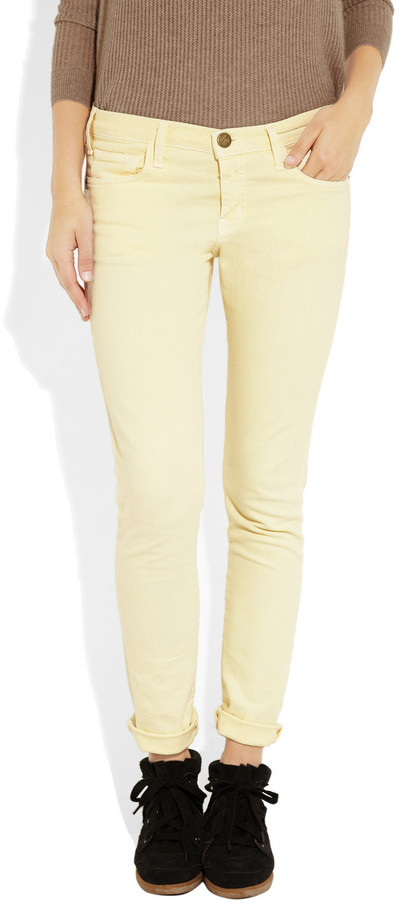 Current/Elliott The Roller mid-rise boyfriend-fit jeans
