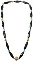Amrita Singh 18K Yellow Gold & Onyx Necklace