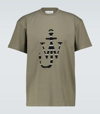 J.W.Anderson Laser-cut logo T-shirt