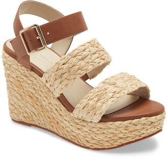 BC Footwear Individuality Vegan Platform Wedge Sandal