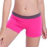 Doinshop New Summer Women Sports Gym Workout Waistband Skinny Yoga Comfort Shorts Pants
