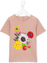 Stella McCartney flora print T-shirt - kids - Cotton - 2 yrs