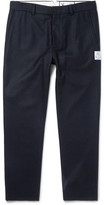 Moncler Gamme Bleu Slim-Fit Wool-Felt Trousers