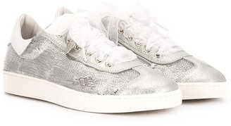 MonnaLisa Sequin-Embellished Trainers