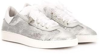 MonnaLisa TEEN glitter sneakers