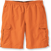 "L.L. Bean Supplex Cargo Sport Shorts, 10"" Inseam"