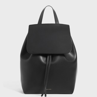 Mansur Gavriel Black Backpack - Ballerina