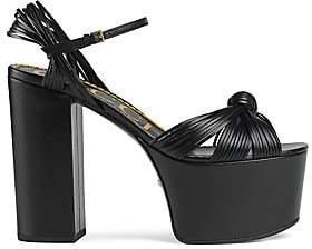 Gucci Women's Leather Platform Sandals