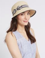Marks and Spencer Bow Cloche Summer Hat