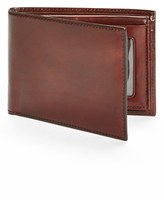 Bosca Men's Id Passcase Wallet - Brown