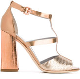 Pollini ankle length sandals - women - Leather - 36