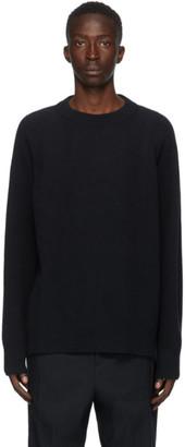 Jil Sander Navy Wool Sweater