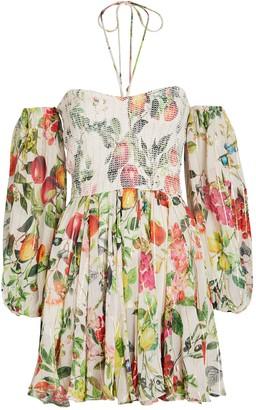 Rococo Sand Off-The-Shoulder Mini Dress
