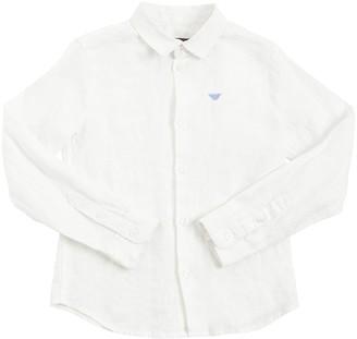 Emporio Armani Classic Linen Shirt