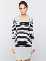 A Pea in the Pod Seraphine Pull Over Rib Knit Nursing Dress