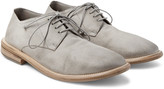 Marsell - Washed-suede Derby Shoes