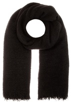 Rick Owens Wool, Cashmere And Silk-blend Scarf