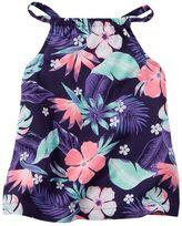 Carter's Girls 4-8 Tropical Flower Flowy Tank Top